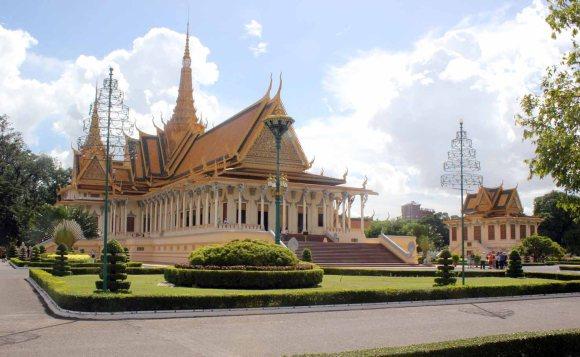 Palacio Real -Salón del Trono de Phnom Penh
