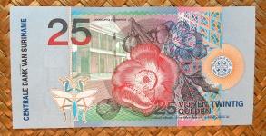 Surinam 25 gulden 2000 pk.148 reverso