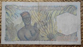 French West Africa 50 francos 1948 pk.39 reverso