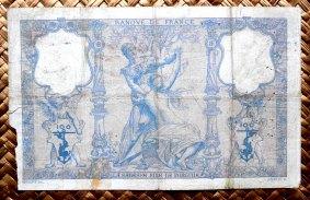 Francia 100 francos Bleu et Rose 1900 pk.65c reverso