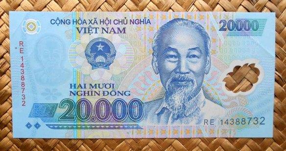 Vietnam 20000 dong 2014 anverso