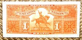 Brasil 1 mil reis 1917 pk.5 reverso