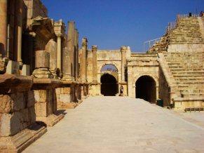 entrada al Teatro Sur -Jerash