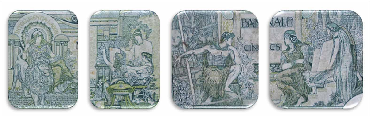 Bélgica 50 francos 1919 alegorias clásicas anverso y reverso